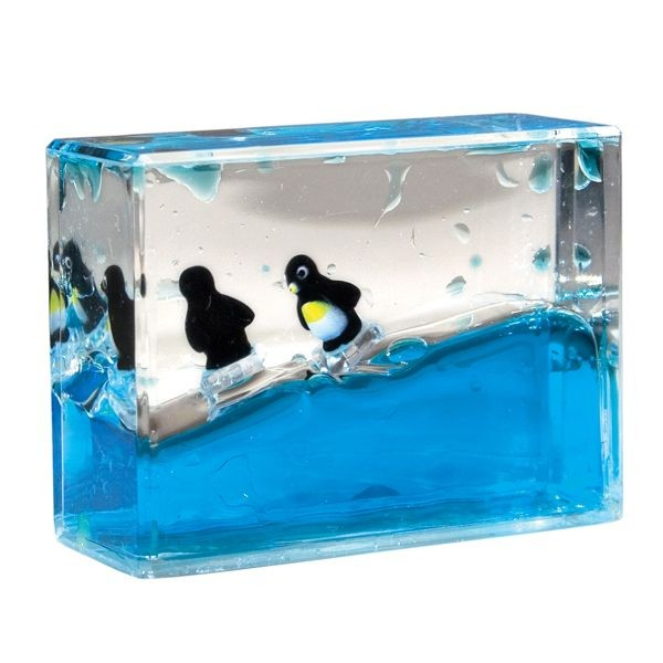 Penguin Mini Wave Paperweight   May 31, 2016