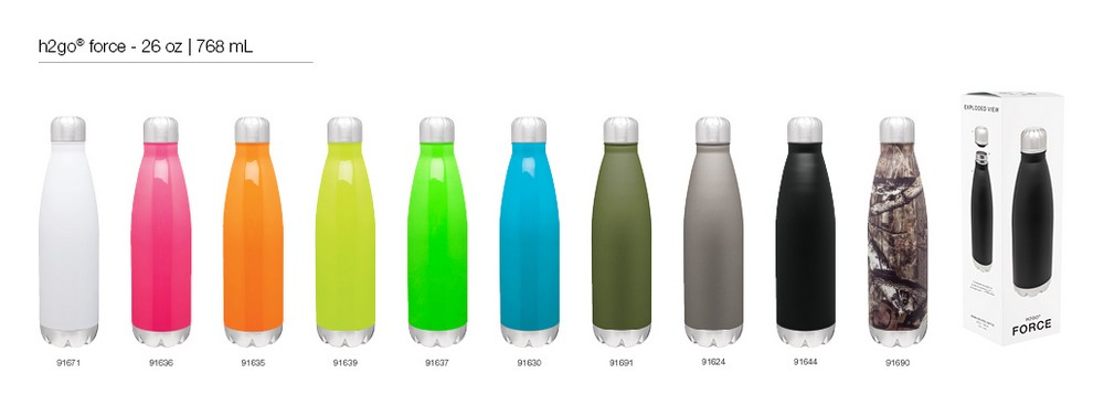 Upscale water bottles   Aug 4, 2016